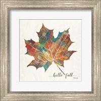 Framed Hello Fall