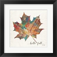 Framed Hello Fall