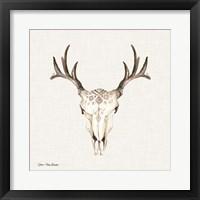 Framed Boho Steer Head II