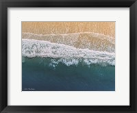 Framed Ocean From the Sky