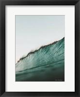 Framed Peaceful Wave