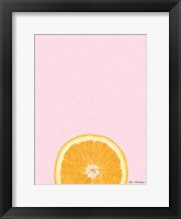 Framed Pink Orange