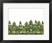 Framed Trees in a Row I