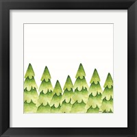 Framed Christmas Trees