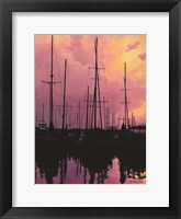 Framed Harbor Glow