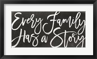 Framed Every Family Has a Story
