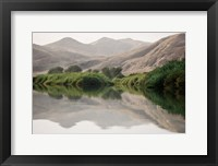 Framed Greenery Along the Banks of the Kunene River, Namibia
