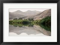 Framed Greenery Along the Banks of the Kunene River, Namibia