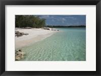 Framed Picard Island White Sand Beach, Seychelles
