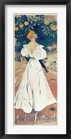 Framed Yvette Guilbert