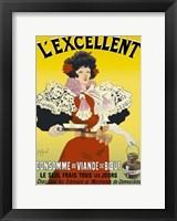 Framed L'excellent, Consomme de Viande de Boeuf