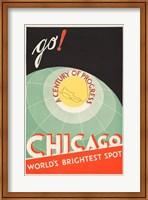 Framed Chicago, World's Brightest Spot