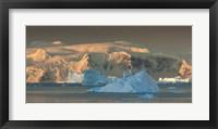 Framed Iceberg, Antarctica