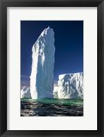 Framed Ice Monolith, Antarctica