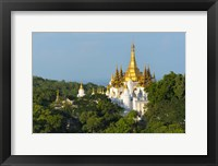 Framed Pagoda on Sagaing Hill, Mandalay, Myanmar
