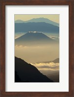 Framed Indonesia, East Java, Mount Bromo Volcano at Sunrise