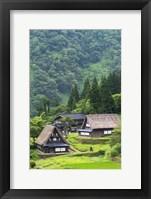 Framed Ainokura Village, Gokayama, Japan