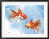 Framed Goldfish