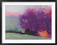 Framed Pantone Woods