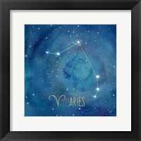Framed Star Sign Aries