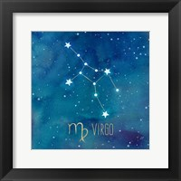 Framed Star Sign Virgo
