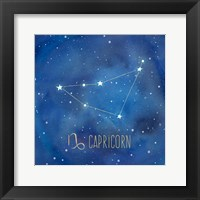Framed Star Sign Capricorn