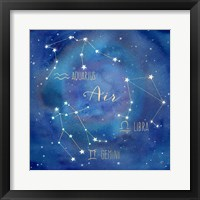 Framed Star Sign Air