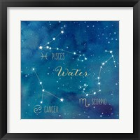 Framed Star Sign Water