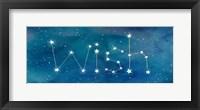 Framed Star Sign Wish
