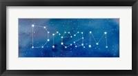 Framed Star Sign Dream