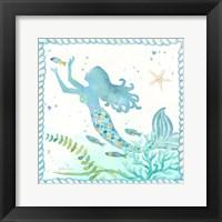 Framed Mermaid Dreams IV