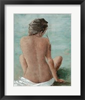 Framed Study of a Woman II (head right)