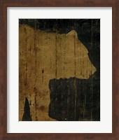 Framed Rustic Lodge Animals Bear