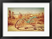 Framed Sanibel Bike