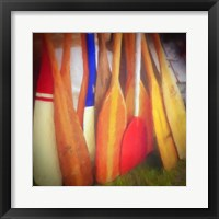 Framed Boat Oars