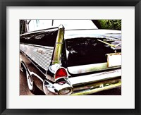 Framed Chevy Tail Fin