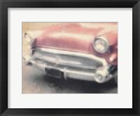 Framed Copper Buick