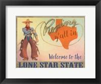 Framed Lone Star State