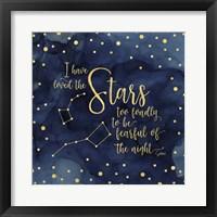 Framed Oh My Stars IV Stars
