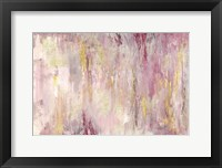 Framed Blush Gold Landscape