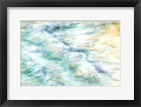 Framed Ocean Waves Landscape