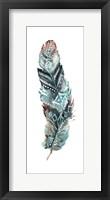 Tribal Feather Single II Framed Print