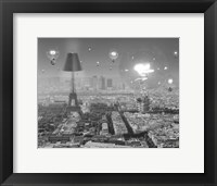Framed Paris the City of Lights