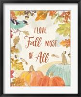 Framed Falling for Fall V