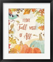 Framed Falling for Fall V