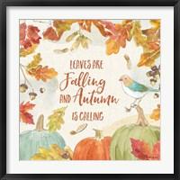 Framed Falling for Fall IV
