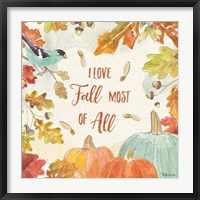 Framed Falling for Fall III