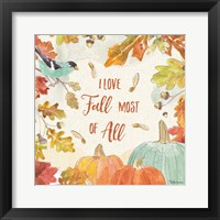 Framed Falling for Fall III