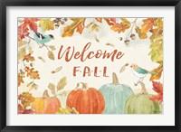 Framed Falling for Fall I