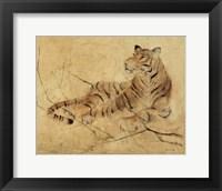 Framed Global Tiger Light Crop